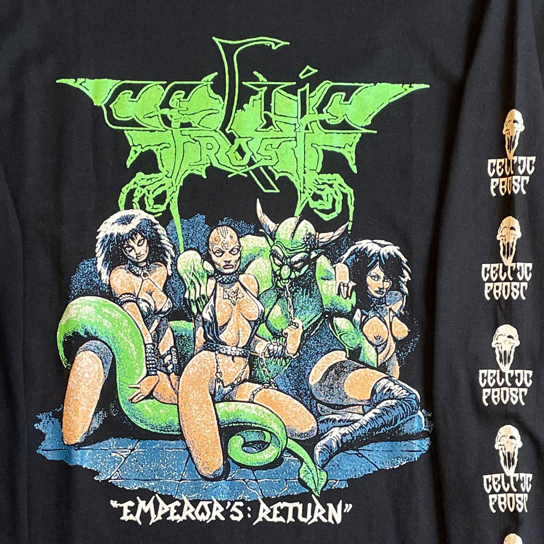 CELTIC FROST ロングスリーブTシャツ Emperor's Return