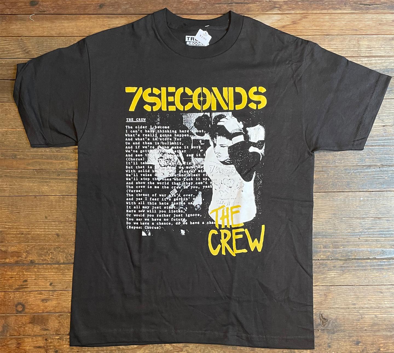 7SECONDS Tシャツ Head Hold Black オフィシャル!
