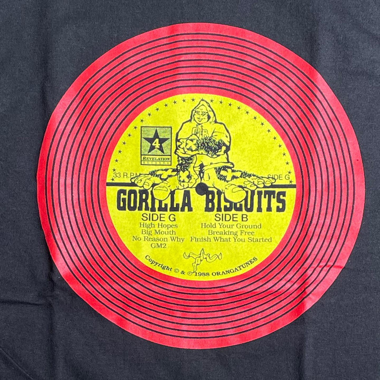 GORILLA BISCUITS Tシャツ Label オフィシャル