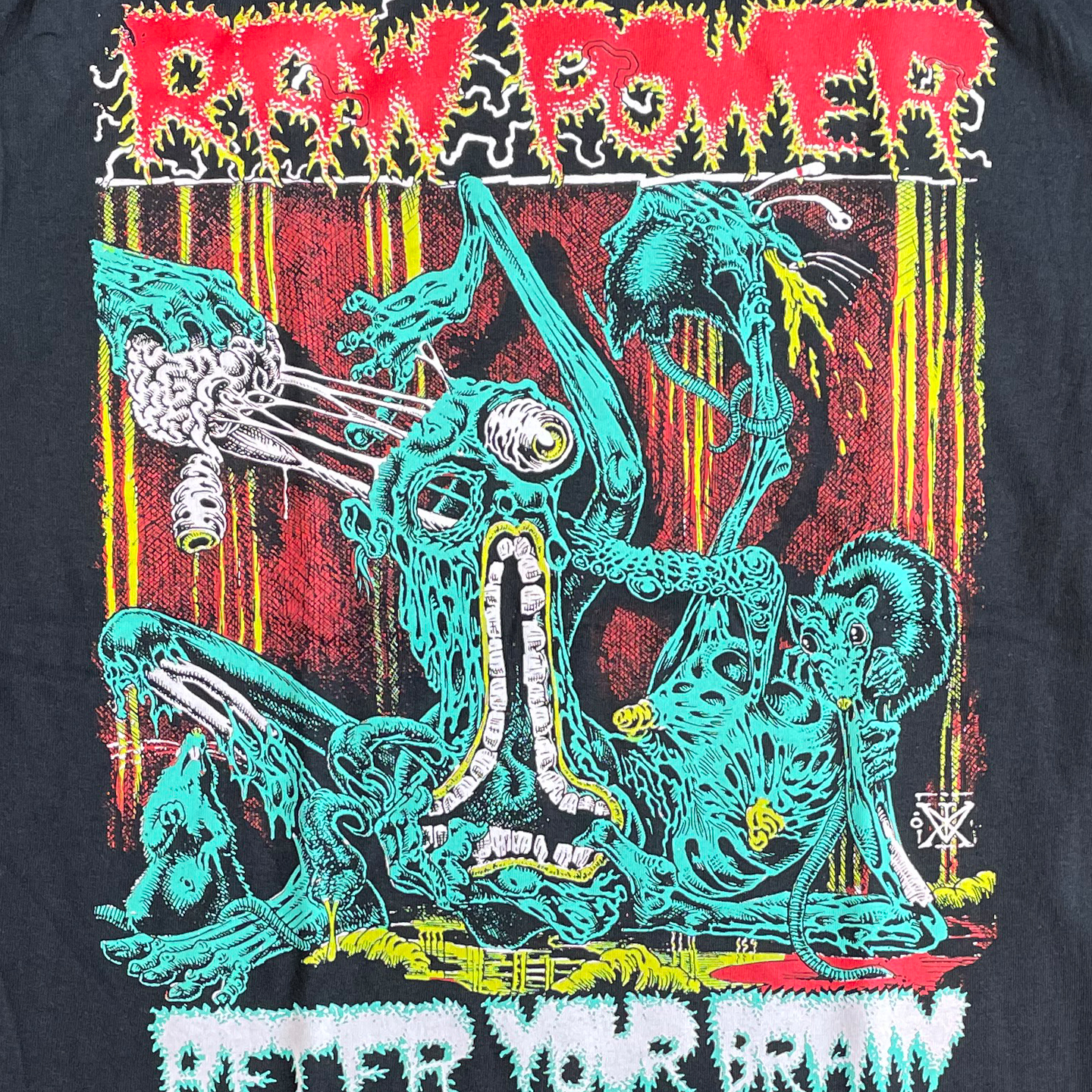 RAW POWER Tシャツ AFTER YOUR BRAIN オフィシャル!