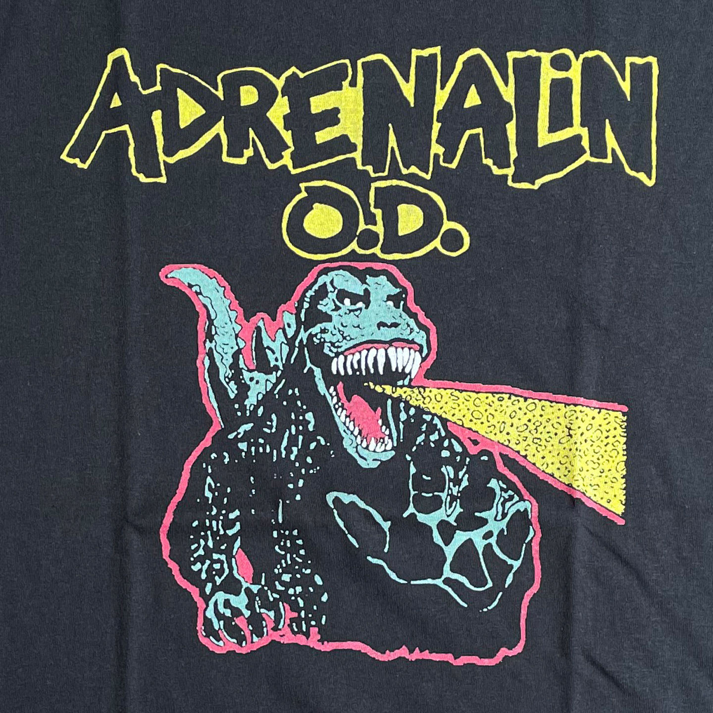 ADRENALIN O.D. Tシャツ Gozilla オフィシャル