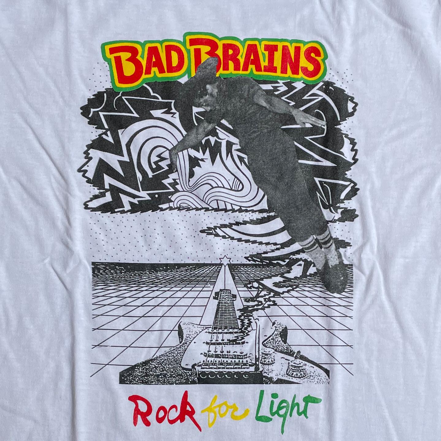 BAD BRAINS Tシャツ ROCK FOR LIGHT