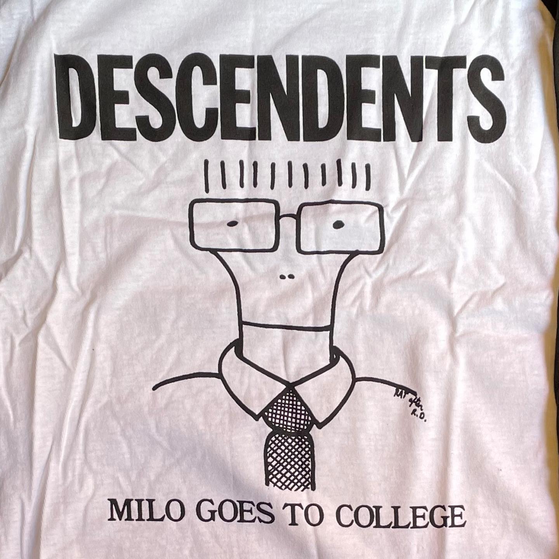 DESCENDENTS ラグランTシャツ MILO オフィシャル!