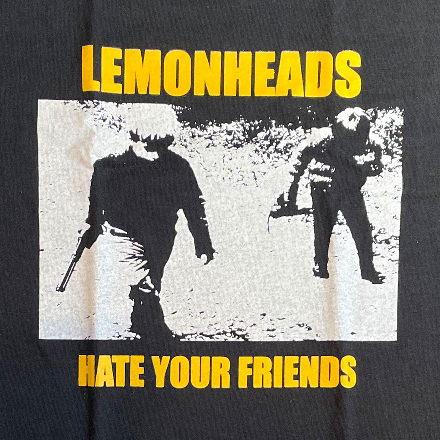 LEMONHEADS Tシャツ HATE YOUR FRIENDS2 オフィシャル!