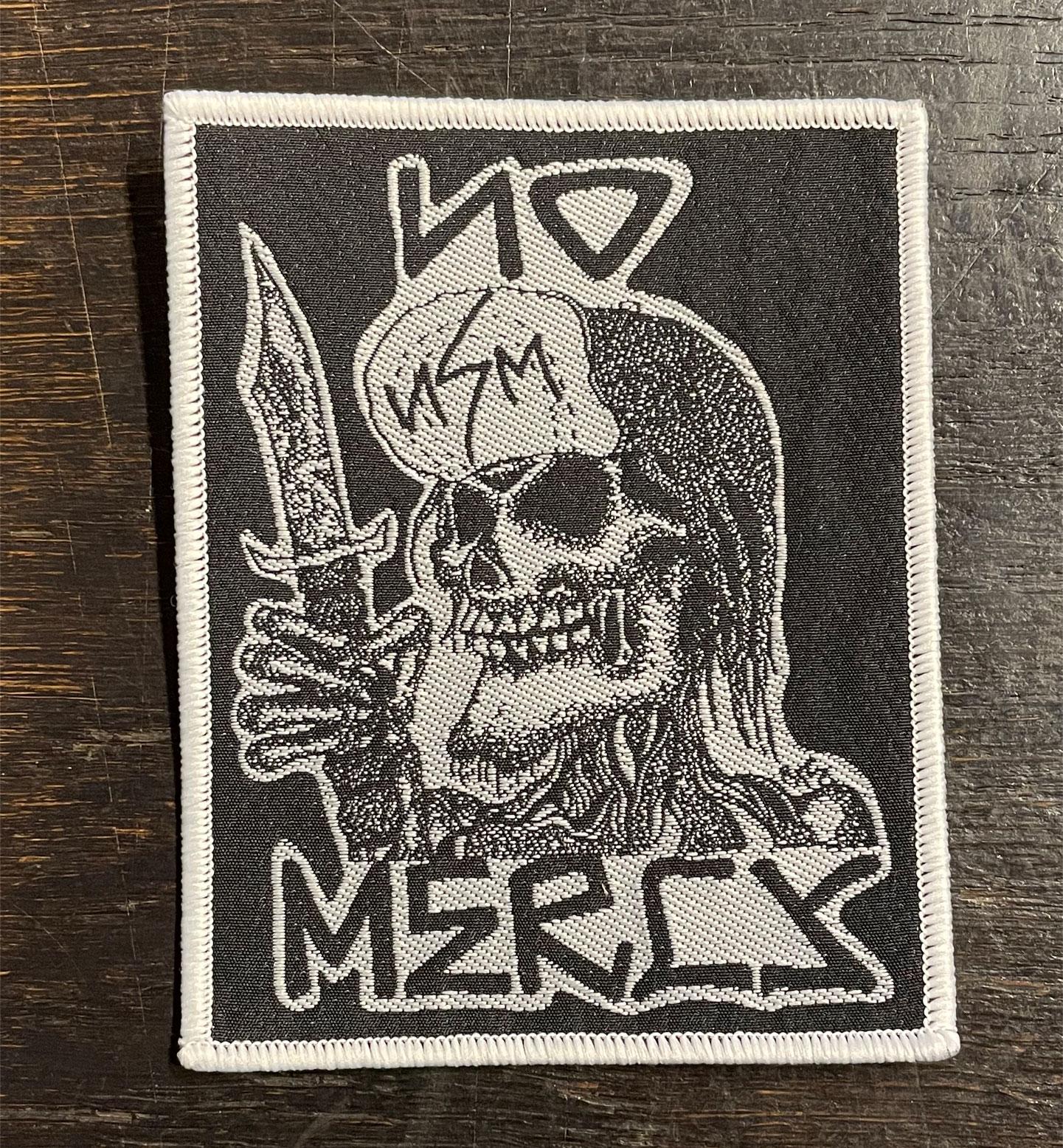 NO MERCY 刺繍ワッペン