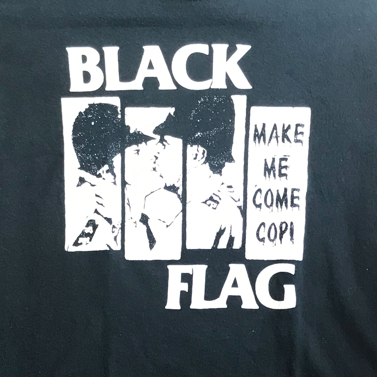 USED! BLACK FLAG Tシャツ COP