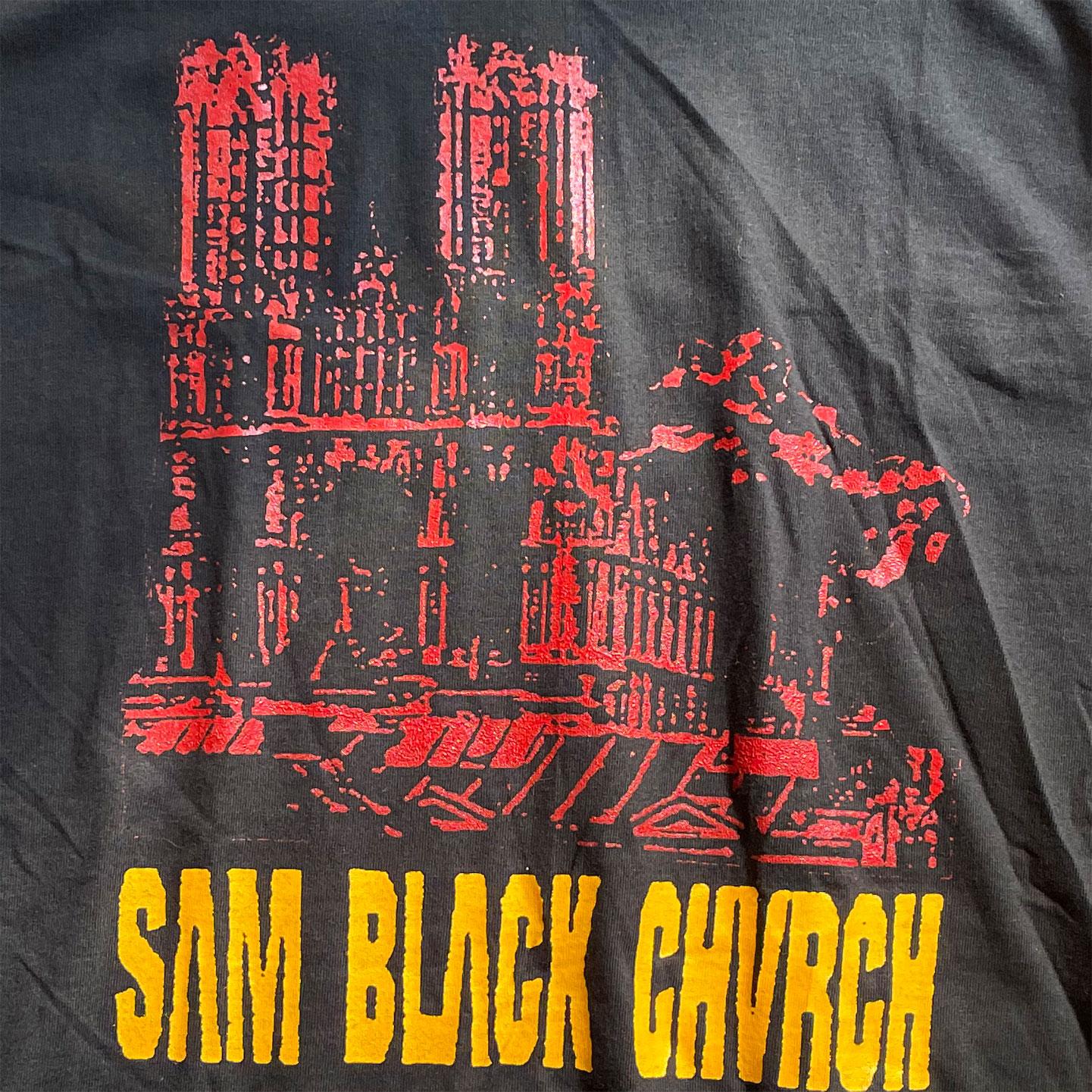 DEADSTOCK! SAM BLACK CHURCH Tシャツ
