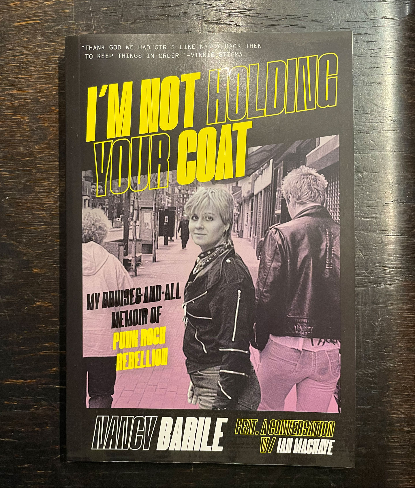 I'm Not Holding Your Coat BOOK