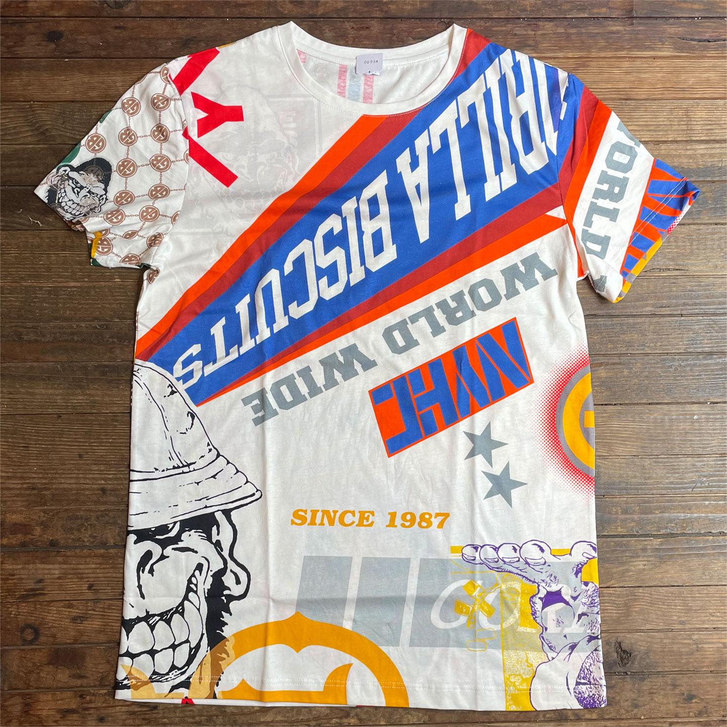 GORILLA BISCUITS Tシャツ ALL OVER PRINT Ltd!!!!