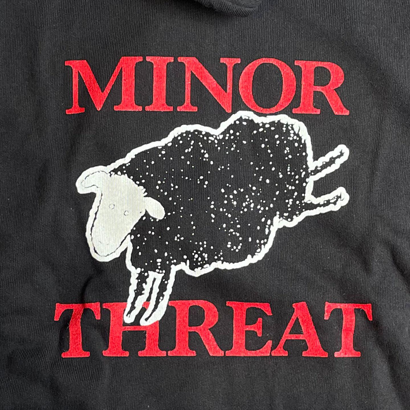 MINOR THREAT ZIPパーカー SHEEP オフィシャル!!