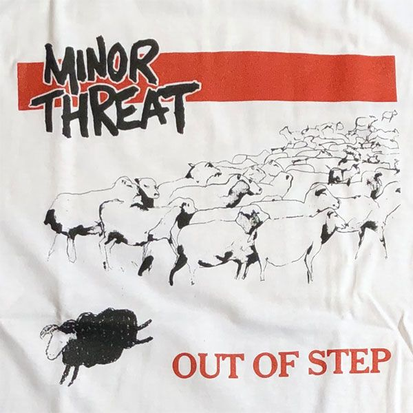 MINOR THREAT Tシャツ OUT OF STEP2