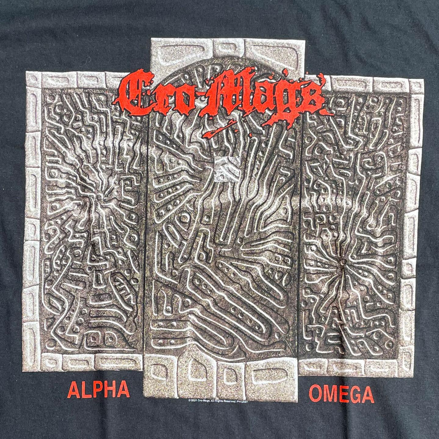 CRO-MAGS Tシャツ ALPHA OMEGA オフィシャル!