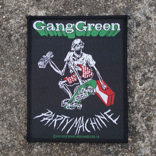 GANG GREEN DEADSTOCK刺繍ワッペン PARTY
