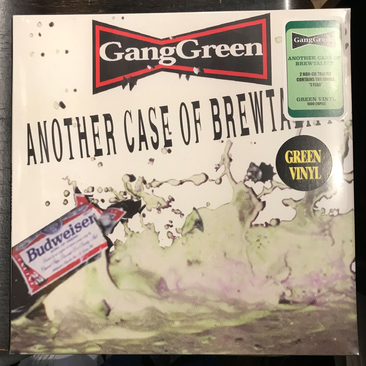 GANG GREEN LP ANOTHER CASE OF BREWTALITY