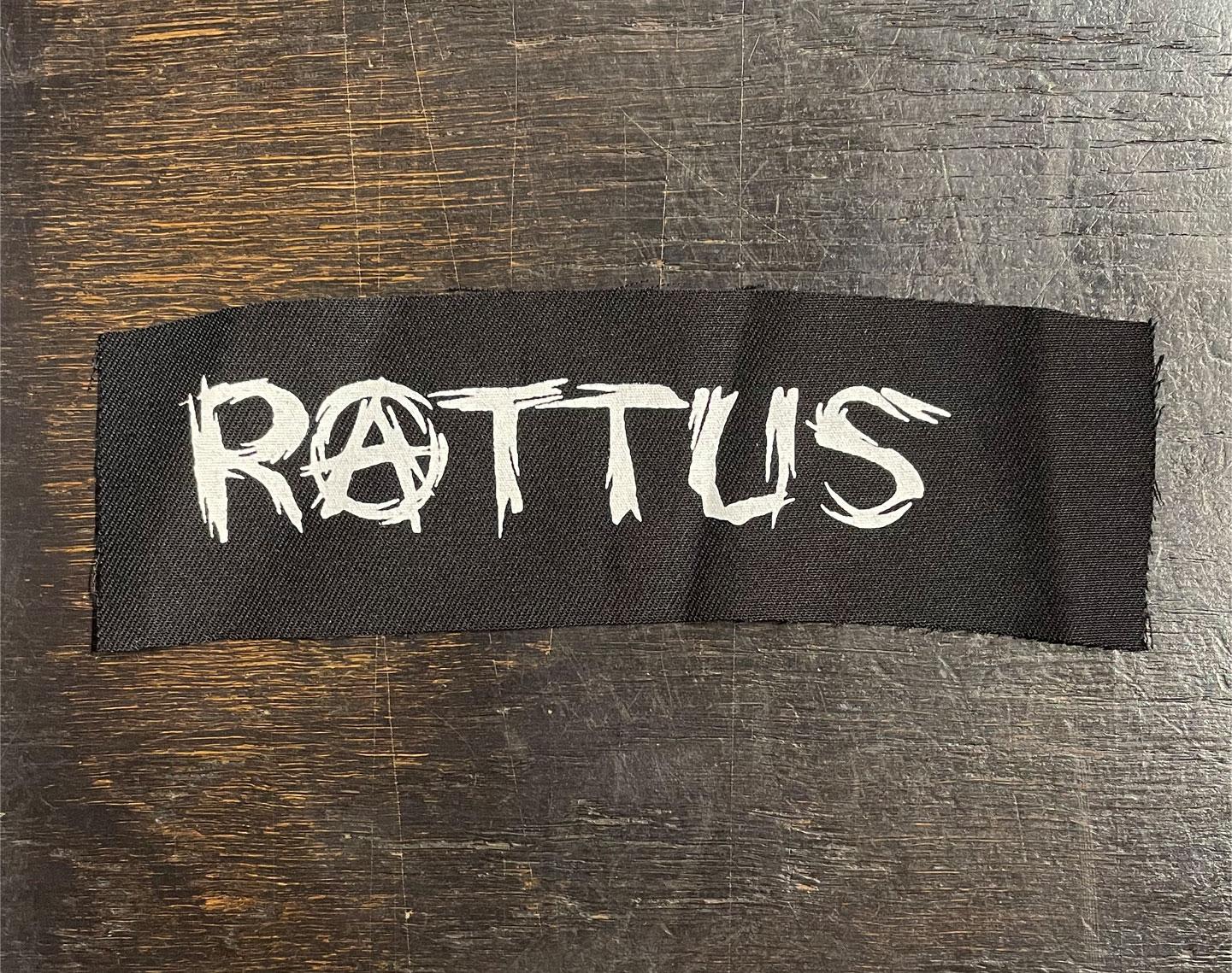 RATTUS PATCH LOGO