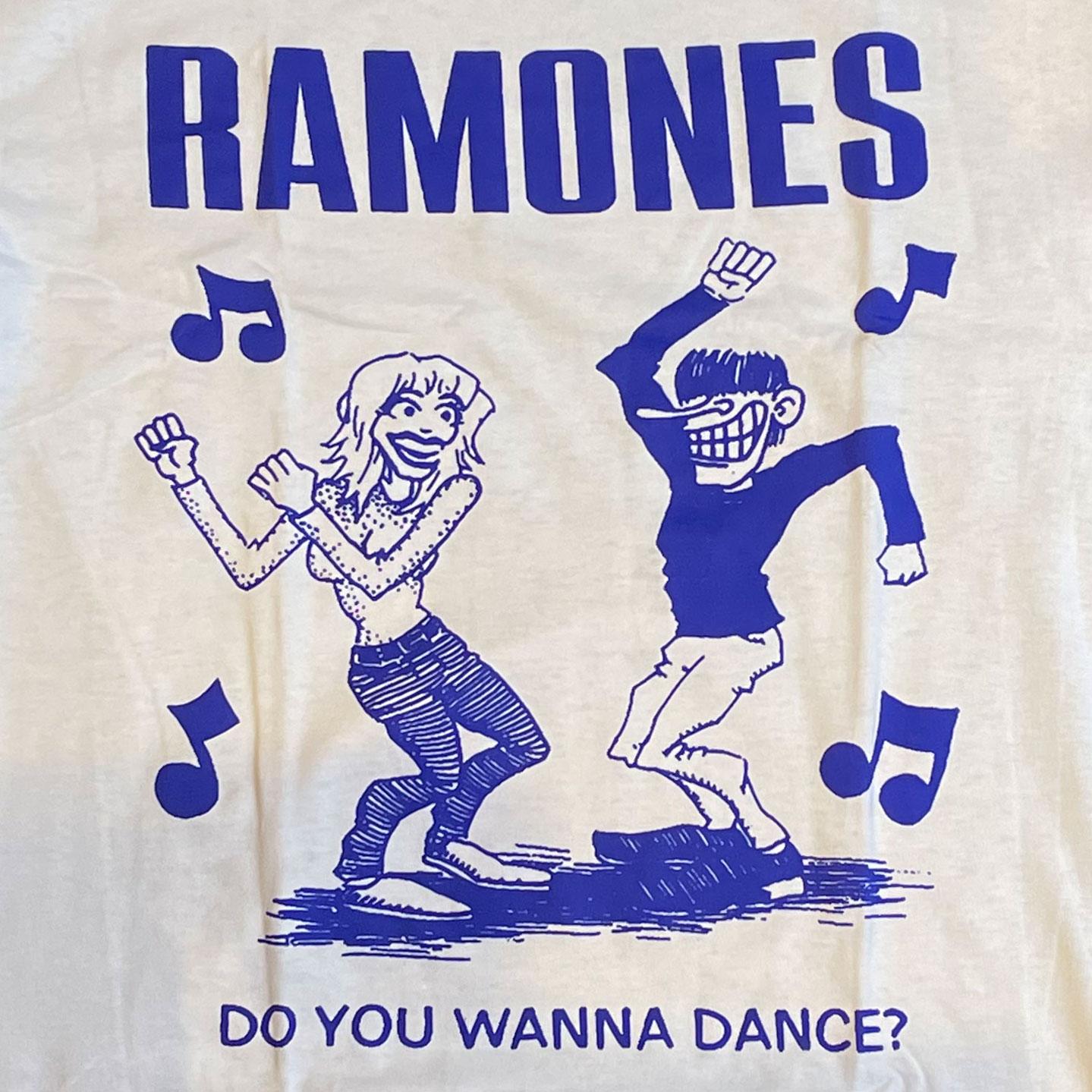 RAMONES Tシャツ DO YOU WANNADANCE?