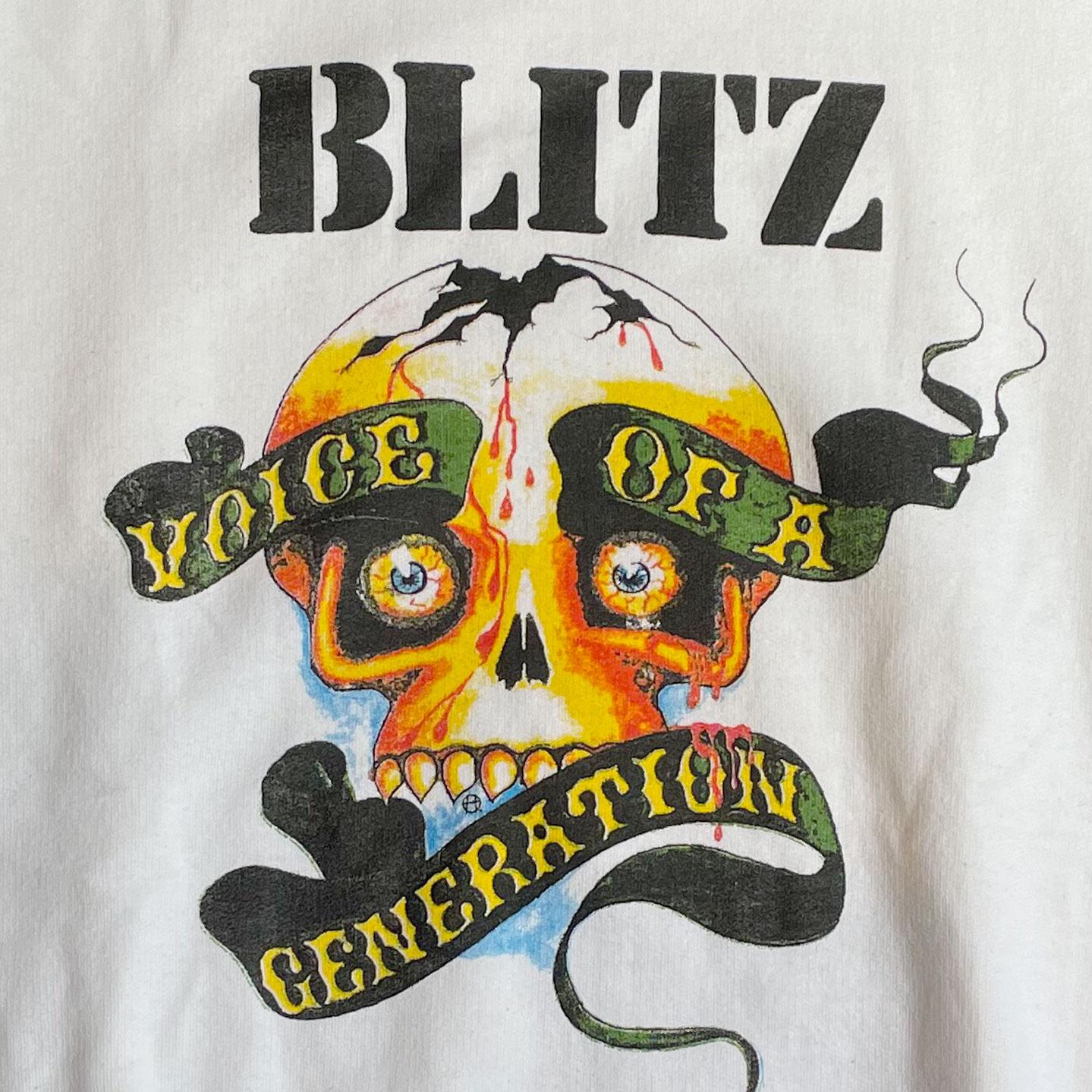 BLITZ スウェット VOICE OF A GENERATION