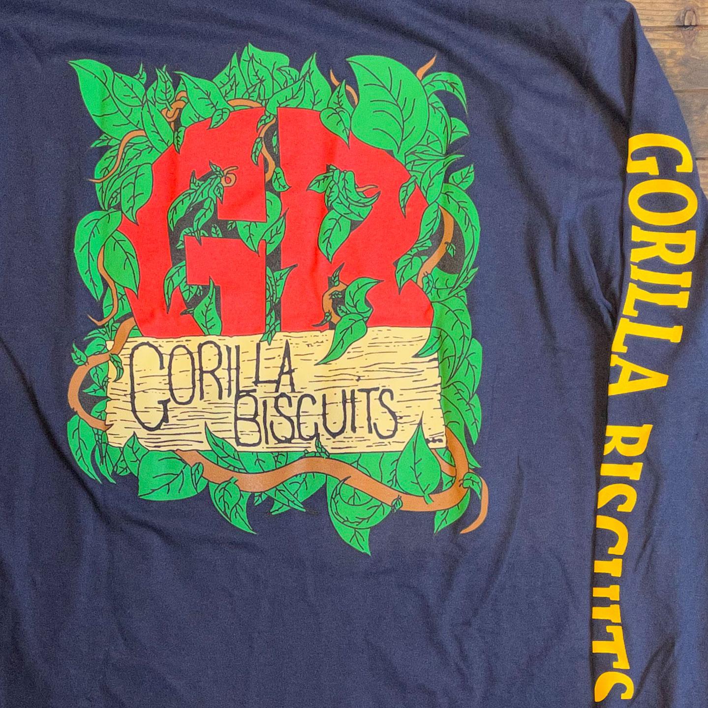 GORILLA BISCUITS ロングスリーブTシャツ