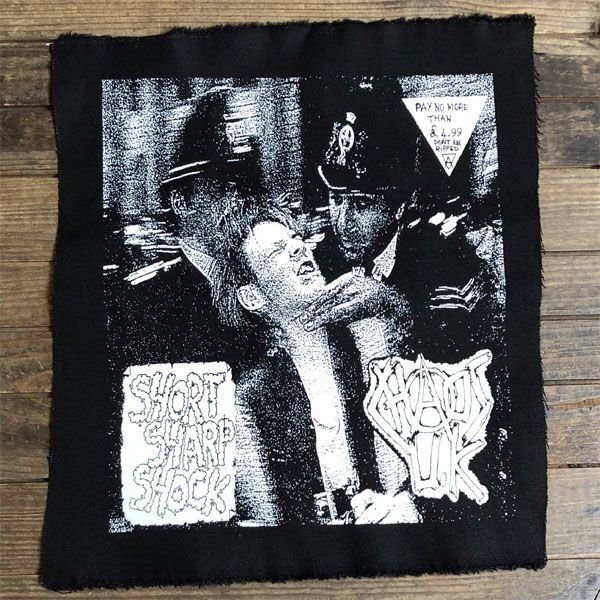 CHAOS UK  BACKPATCH SHORT SHARP SHOCK
