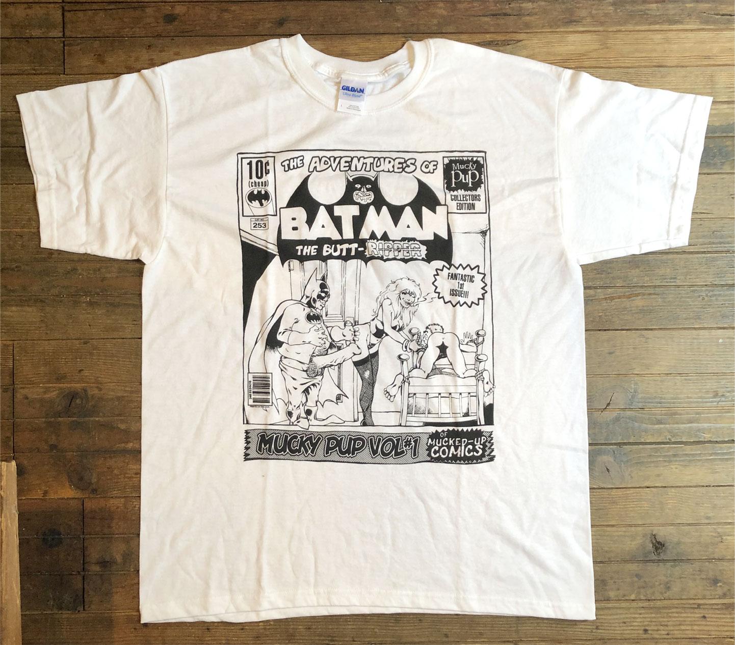 MUCKY PUP Tシャツ BAT MAN オフィシャル!!!!!!