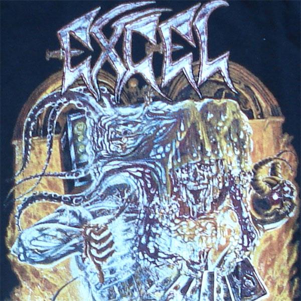 EXCEL Tシャツ SPLIT IMAGE ロンT