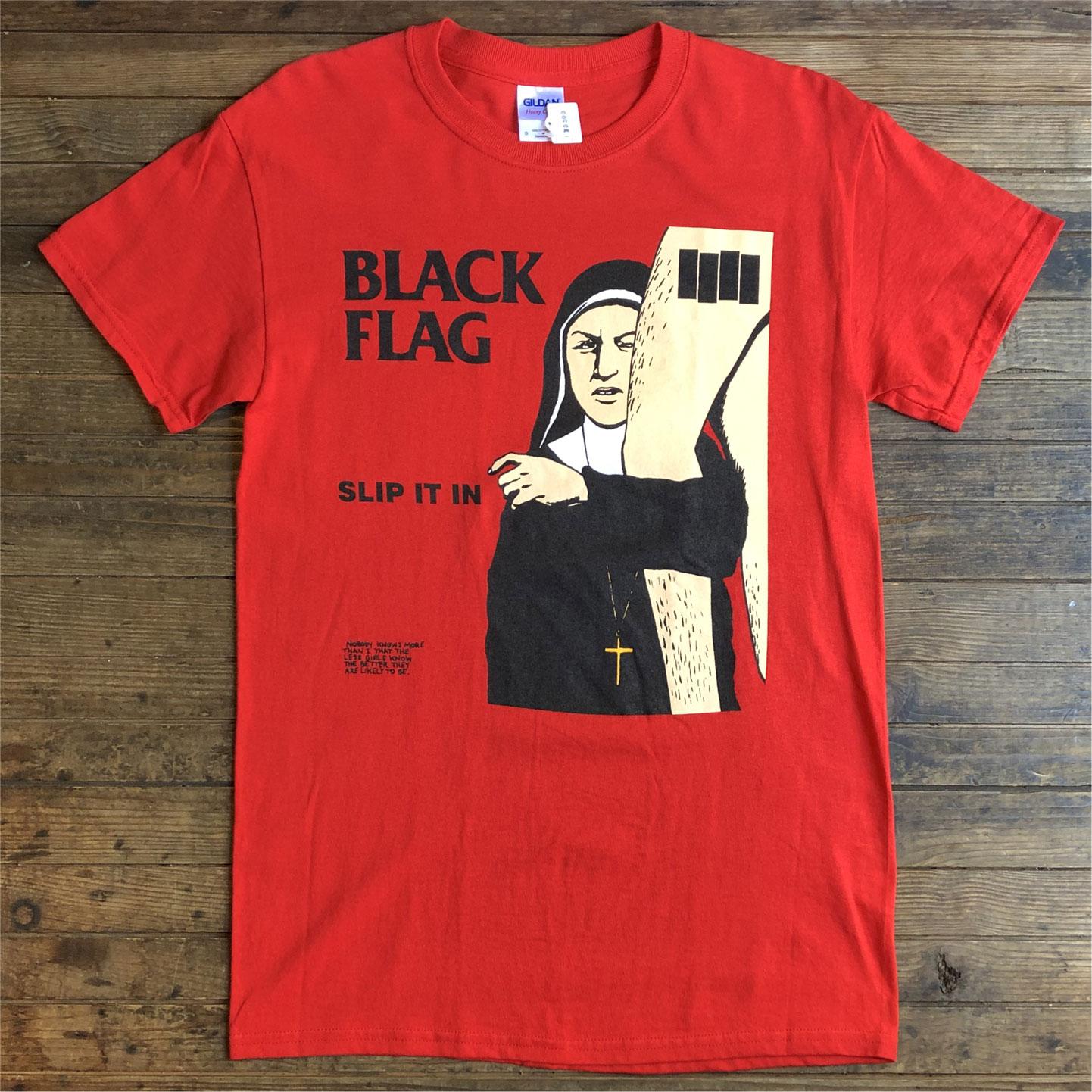 BLACK FLAG Tシャツ SLIP IT IN
