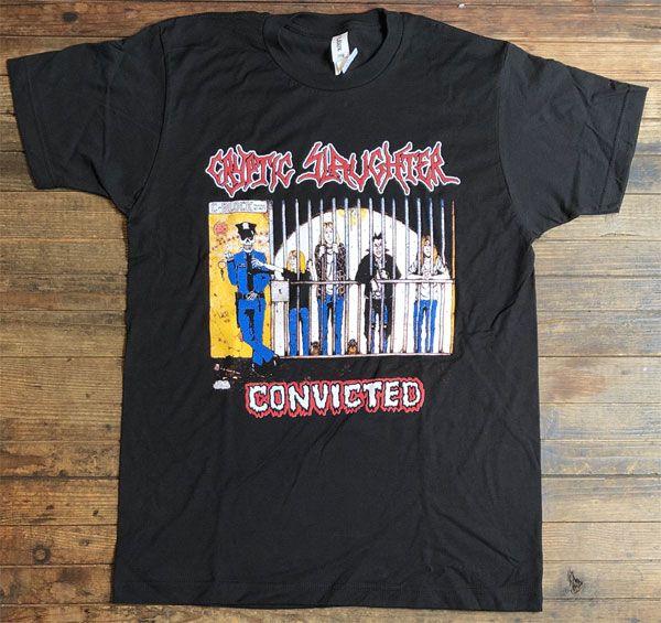 CRYPTIC SLAUGHTER Tシャツ CONVICTED オフィシャル!