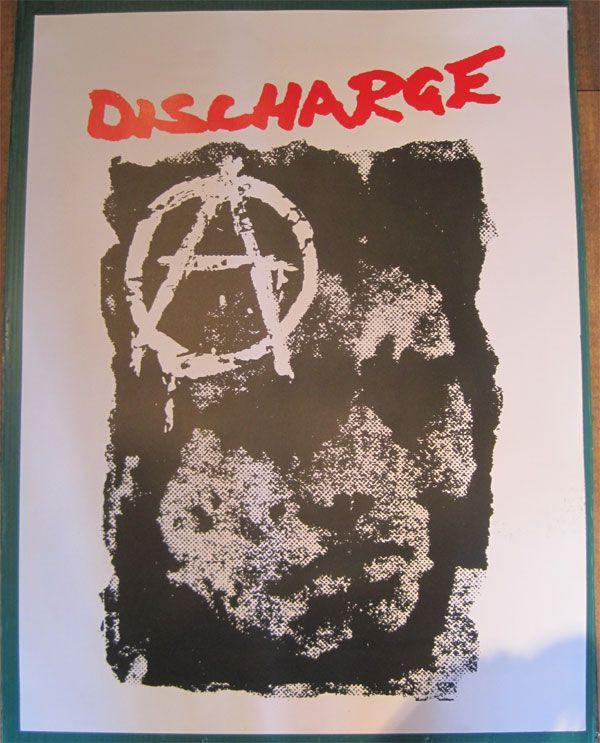 DISCHARGE  ポスター DECONTROL