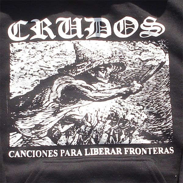 LOS CRUDOS パーカー たいまつ