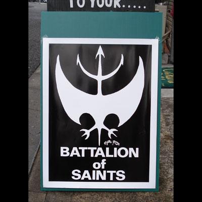BATTALION OF SAINTS  ポスター
