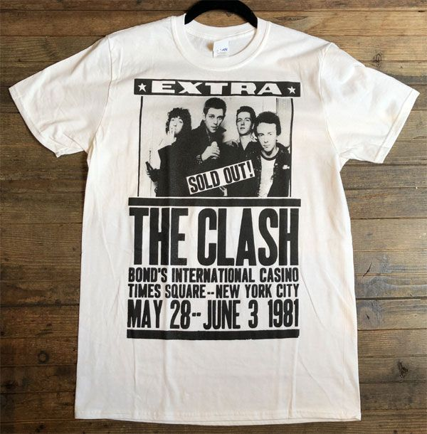 THE CLASH Tシャツ SOLD OUT