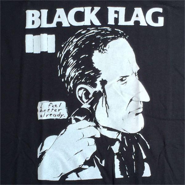 BLACK FLAG Tシャツ I FEEL BETTER ALREADY 2