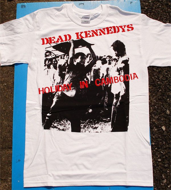 DEAD KENNEDYS Tシャツ HOLIDAY IN CAMBODIA 3