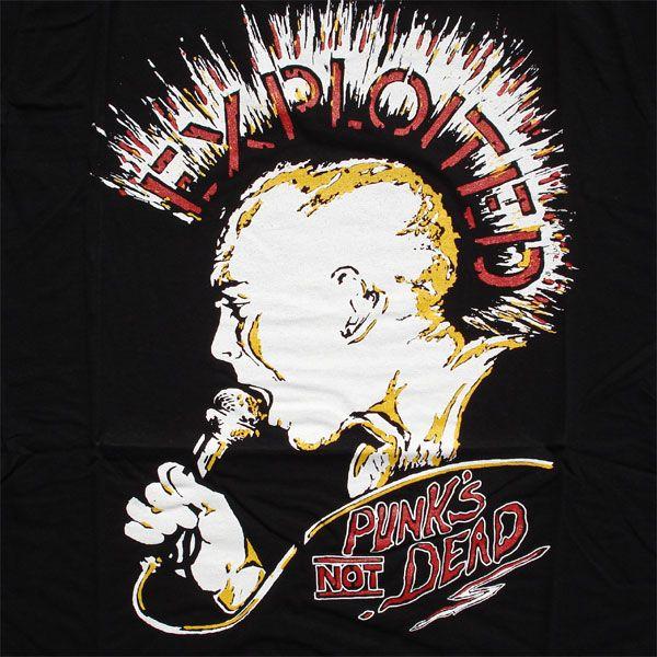 EXPLOITED Tシャツ PUNKS NOT DEAD
