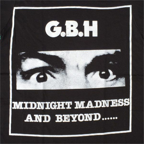 G.B.H Tシャツ MIDNIGHT MADNESS AND BEYOND...