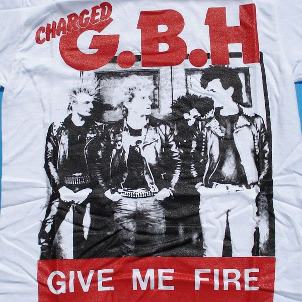 G.B.H Tシャツ GIVE ME FIRE 1
