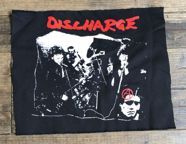DISCHARGE BACKPATCH PHOTO