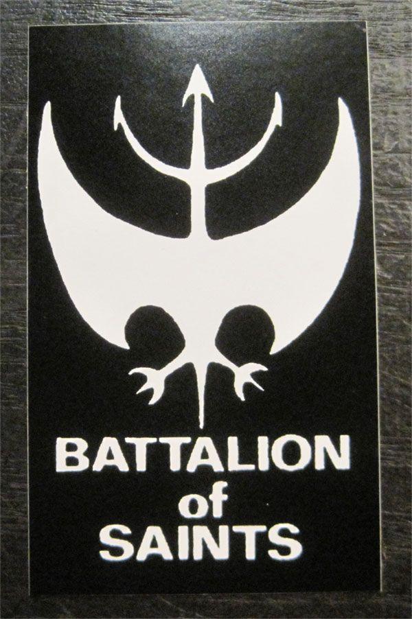 BATTALION OF SAINTS ステッカー ロゴマーク