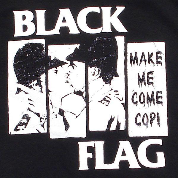 BLACK FLAG Tシャツ COP
