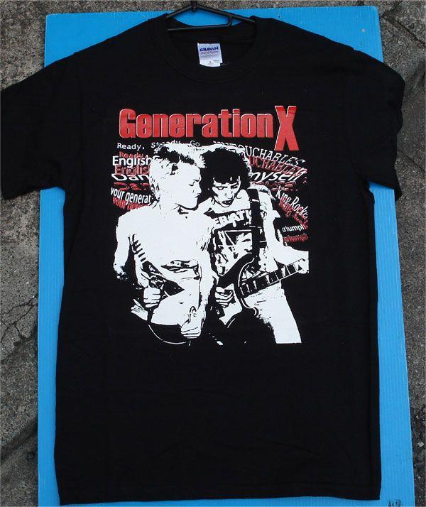 GENERATION X Tシャツ LIVE