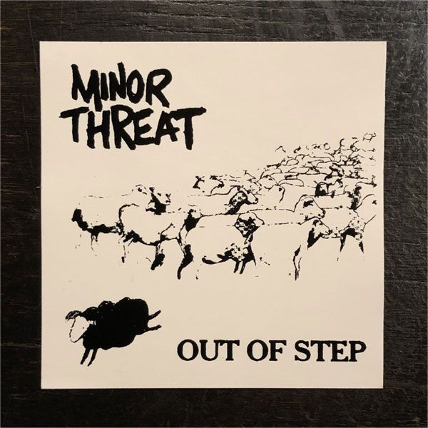 MINOR THREAT ステッカー OUT OF STEP
