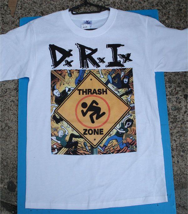 D.R.I. Tシャツ THRASH ZONE