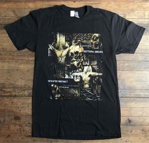 DEVIATED INSTINCT Tシャツ Guttural Breath オフィシャル!