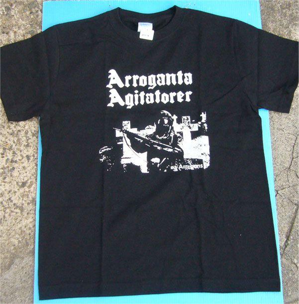 Arroganta Agitatorer Tシャツ Arrogans