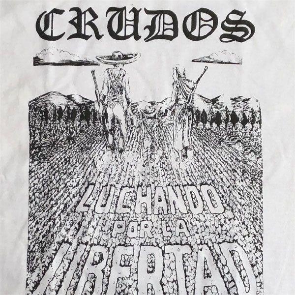 LOS CRUDOS Tシャツ Luchando por la libertad