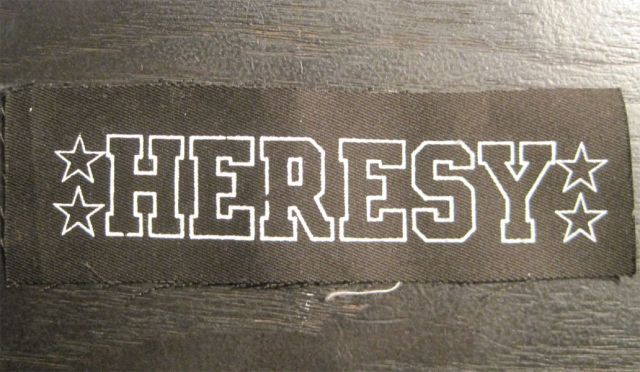 HERESY  PATCH 1